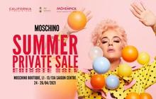 Moschino Summer Private Sale - đại tiệc săn sale hàng hiệu cho bạn