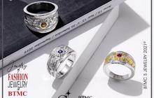 Bảo Tín Minh Châu ra mắt BST nhẫn bạc Rồng Thăng Long nạm đá quý phong thủy