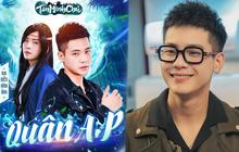 """""""Hot boy làng nhạc"""" Quân A.P bắt tay siêu phẩm Tân Minh Chủ, lần đầu thử sức với vai trò Gương mặt Truyền thông"""