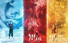 Lần đầu tiên thấy! Tiến Linh, Min, MisThy và Dế Choắt cùng kết hợp, hóa thân thành tứ linh trong Võ Lâm Truyền Kỳ 1 Mobile