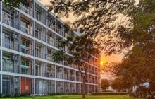 Cận cảnh khu cách ly Covid-19 xanh mát tại campus Hòa Lạc