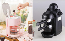 """Nhâm nhi ly cafe chưa bao giờ dễ đến thế với top 5 máy pha cafe vừa gọn nhẹ rẻ mà lại """"có võ"""""""