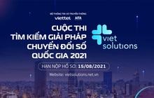 Viet Solutions 2021 - Cùng cộng hưởng để kiến tạo xã hội số