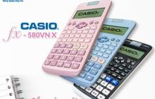 Fan CASIO phấn khích tột độ với visual mới của CASIO fx-580VN X