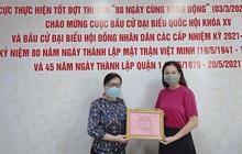 Ngọc Thúy ủng hộ Quỹ vaccine 100 triệu đồng
