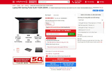Top laptop gaming MSI đang có mức giá hấp dẫn tại CellphoneS