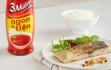 Cá chẽm sốt nước mắm hấp theo công thức vua đầu bếp: Món ngon đổi vị cho ngày ngán thịt