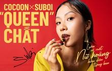 """Khám phá """"Queen"""" Chất của Suboi trong bộ sưu tập giới hạn kết hợp cùng mỹ phẩm thuần chay Cocoon"""