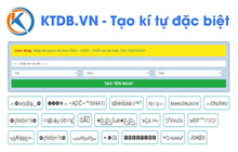 Hành trình xây dựng KTDB.VN - Ứng dụng tạo kí tự đặc biệt của chàng lập trình viên trẻ