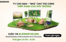 """Samsung lan tỏa lối sống xanh với cuộc thi """"Làm Nhà Thú Cưng"""" từ bao bì sinh thái"""