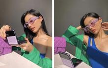 Cô Em Trendy bị gây mê cực mạnh từ khi có Galaxy Z Flip3, chăm chỉ selfie và sáng tạo video hơn hẳn lúc trước