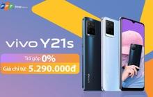 vivo Y21s Series camera 50MP, giá chỉ từ 5,29 triệu tại FPT Shop