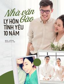 Hơn 10 năm bên nhau của nhà văn Gào và chồng: Tình yêu - thị phi song hành từ ngày đầu công khai