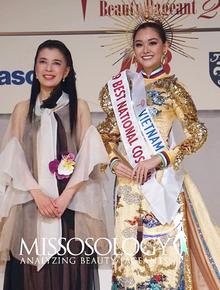 Cập nhật chung kết Hoa hậu Quốc tế 2019: Gặp sự cố phút chót, Tường San vẫn thắng giải Quốc phục đẹp nhất
