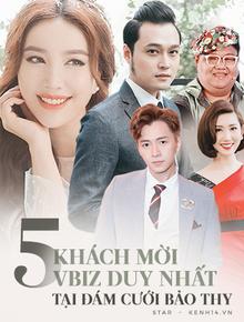 """Lộ diện """"full"""" bộ 5 nghệ sĩ khách mời tại đám cưới Bảo Thy: Ngô Kiến Huy, Thúy Ngân và dàn sao cực thân từ mới vào nghề"""