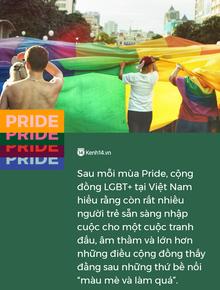 Cộng đồng LGBT+ tại Việt Nam được gì sau mỗi mùa Pride?