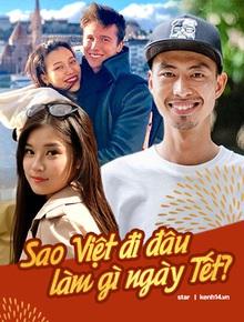 Sao Việt trước thềm giao thừa 2020: Người canh bánh trưng, người hết tất bật chạy show lại đón Tết bên trời Tây