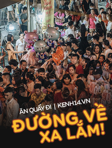 Một ngày trước Trung thu, dân tình Hà Nội đổ ra đường đông nghịt: chen chân về nhà đã khó, muốn vui vẻ dạo bước càng bất khả thi