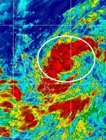 Ngày mai áp thấp nhiệt đới khả năng mạnh thành bão, hướng vào miền Trung gây mưa lớn từ 24/10