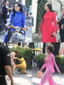 """Workshop Hoa hậu chuyển giới 2020: Quỳnh Anh Shyn nổi bần bật, dàn thí sinh lên đồ """"chặt chém"""", vấp ngã hàng loạt vì guốc cao"""