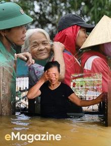 Giông bão nào cũng sẽ vượt qua, vì người Việt ta luôn sống với nhau bằng cái nghĩa đồng bào!