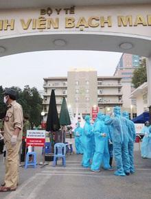 Thêm 4 ca nhiễm Covid-19 mới, nâng tổng lên 245: 1 người từng đưa vợ đến khám ở Bệnh viện Bạch Mai