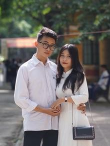 Couple sinh năm 2002 yêu nhau cuối cấp vẫn đạt điểm tổng kết trên 9 phẩy