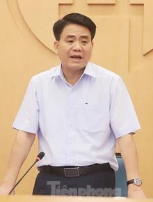 Chủ tịch Hà Nội: Thêm một ca dương tính SARS-CoV-2 tại Phúc Thọ