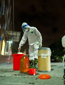 Hà Nội phong tỏa chung cư có bệnh nhân nhiễm Covid-19 tại Hoài Đức trong đêm