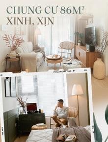 Căn chung cư 86m2 cho 4 người ở Hà Nội: 10 người tới thăm thì tới 11 người khen xinh quá, chỉ muốn ở lại luôn!