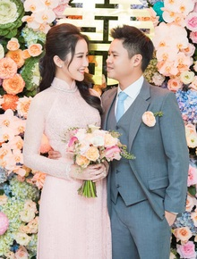 Loạt ảnh đám hỏi của thiếu gia Phan Thành và Primmy Trương chính thức được hé lộ!