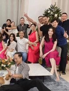 Tiệc hội bạn hào môn: Phillip Nguyễn tình tứ ôm chặt Linh Rin, nhưng sao át nổi nhan sắc Hà Tăng - Đặng Thu Thảo?