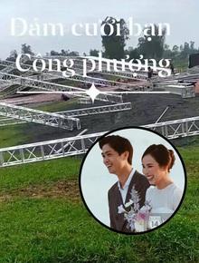 """Hé lộ ảnh hiếm đầu tiên về đám cưới của Công Phượng ở quê nhà Nghệ An, liệu có """"khủng"""" như Phú Quốc và TP.HCM?"""
