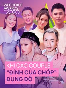 WeChoice Awards 2020 là đại hội sum vầy của các couple Vbiz hay gì? Binz - Châu Bùi, Phillip - Linh Rin đủ cả nhưng chưa phải là hot nhất!