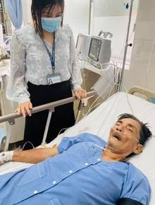 Diễn viên Thương Tín đột quỵ nhập viện cấp cứu tại bệnh viện quận 12, gia đình đã biết tin