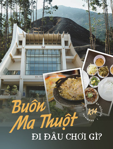 Đi Buôn Ma Thuột ăn gì - chơi ở đâu: Sáng húp trọn phở 2 tô uống ly cà phê Ban Mê, chiều tối chill ngay thác Dray Sap gặm cơm lam gà đồi!