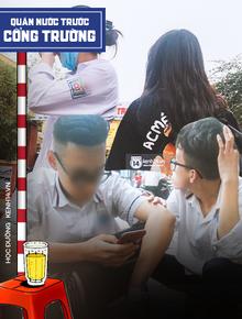 Ảnh, video: Học sinh ở Hà Nội phì phèo thuốc lào, chửi bạn, xúc phạm giáo viên bằng đủ thứ ngôn ngữ tục tĩu