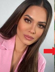 """Nhan sắc khác """"một trời một vực"""" của Miss Universe 2020 khi chuyển từ makeup đậm sang nhạt hơn"""