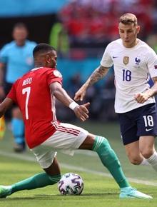 [Trực tiếp Euro 2020] Hungary 0-0 Pháp: Nhà vô địch thế giới liên tục bỏ lỡ cơ hội