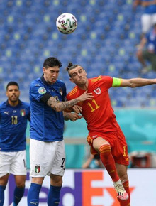 Trực tiếp Italy 0-0 Xứ Wales (Euro 2020): Italy kiểm soát thế trận