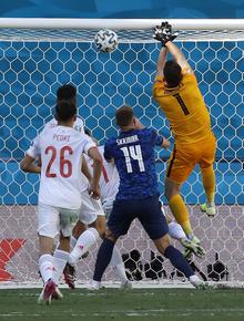 Trực tiếp Tây Ban Nha 2-0 Slovakia (hết hiệp 1, Euro 2020): Hậu vệ đánh đầu đẳng cấp giúp Tây Ban Nha nắm lợi thế lớn
