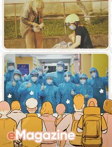 """Từ những đôi mắt """"rớm đỏ"""" ở Sài Gòn: Mọi người rủ nhau làm từ thiện, sẽ không có ai bị bỏ lại đằng sau"""