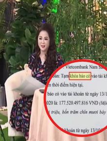 """Bà Phương Hằng cảm ơn Vietcombank bởi văn bản """"tạm khóa báo có"""", khẳng định cả ngân hàng và Thủy Tiên đều hợp pháp"""