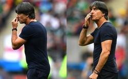 HLV Joachim Low lại ngoáy mũi trong trận thua của đội tuyển Đức