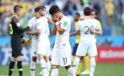 Công nghệ VAR khiến Hàn Quốc thua penalty, nguy cơ bị loại sớm ở World Cup 2018