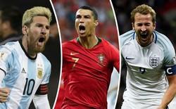 """Hé lộ """"bùa phép"""" cầu may của Messi và Ronaldo ở World Cup 2018"""