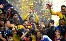Thắng thuyết phục Croatia, Pháp lần thứ hai trong lịch sử vô địch World Cup