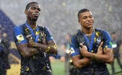 Pogba chế nhạo người Anh trong ngày giúp Man Utd tạo lịch sử ở World Cup