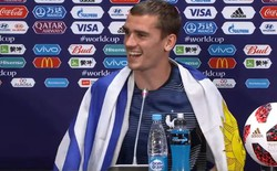 Tại sao Griezmann khoác cờ Uruguay khi vô địch World Cup 2018?