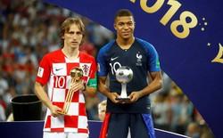 """Gương mặt buồn của Modric và """"lời nguyền"""" với Quả bóng vàng World Cup"""